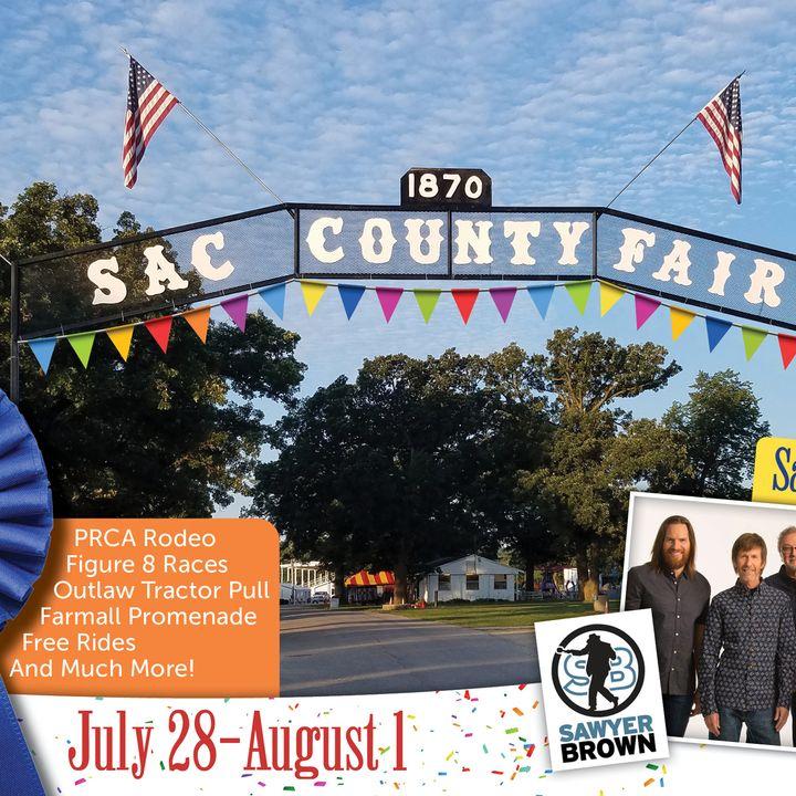 Sac County Fair Iowa - pre-fair interview by Countyfairgrounds