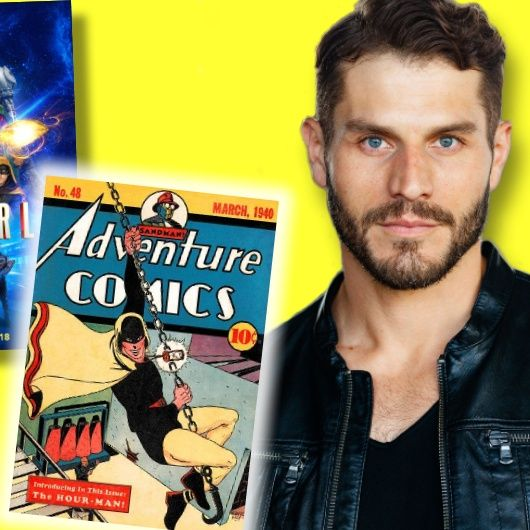 #362: Lou Ferrigno Jr. talks superheroes! From his dad Hulking out, to his turn as Hourman on the hit series Stargirl!