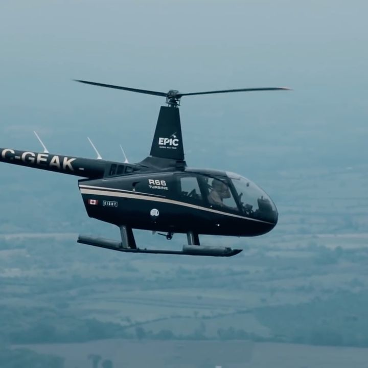 EPIC - Round-the-World Helicopter Tour #2 - All aboard the Excel
