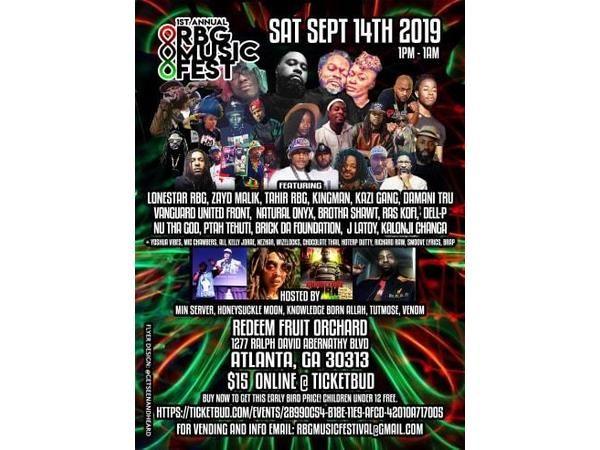 Talk Black To Me Tuesdays ft. RBG Music Festival Collabo 2