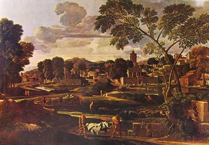 Funerali di Focione Nicolas Poussin