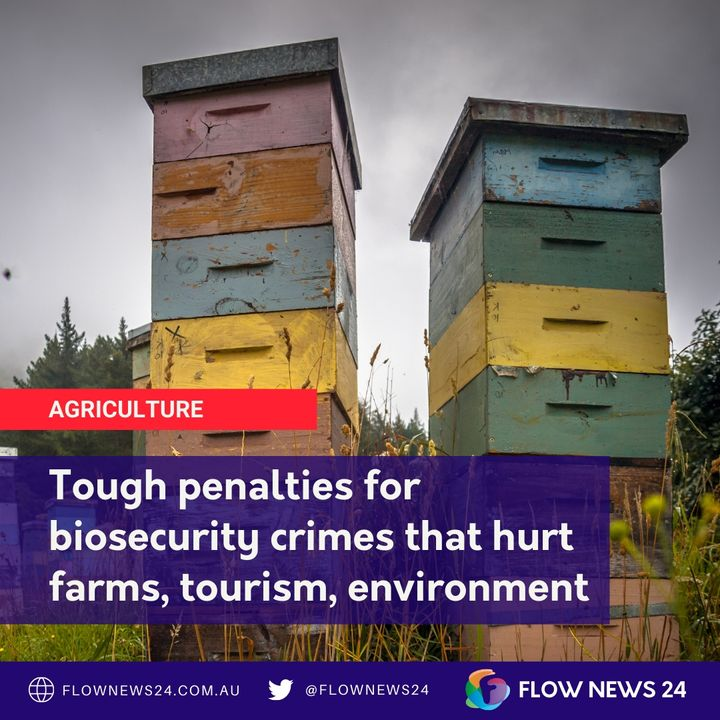 Tough new biosecurity penalties for putting Australian farm, tourism and environment at risk
