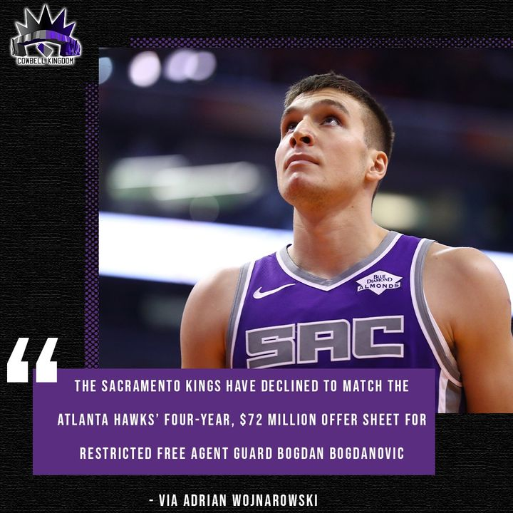 CK Podcast 475: The Kings have moved on from Bogdan Bogdanovic