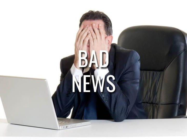 Bad News - Morning Manna #3138