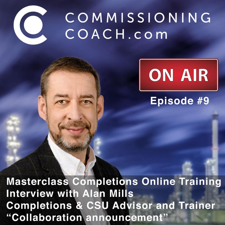 #9 - Masterclass Completions Online Training - Interview with Alan Mills