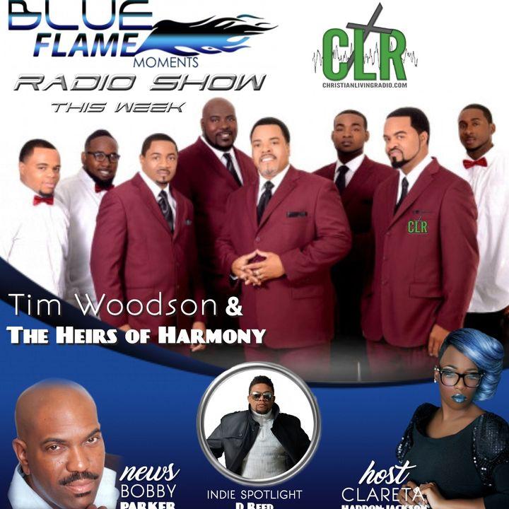 Blue Flame Radio Tim Woodson 1