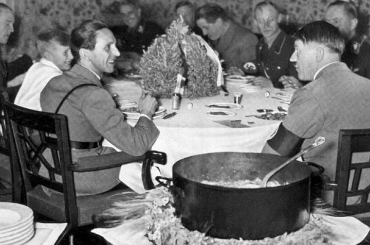 L' alimentazione di Adolf Hitler