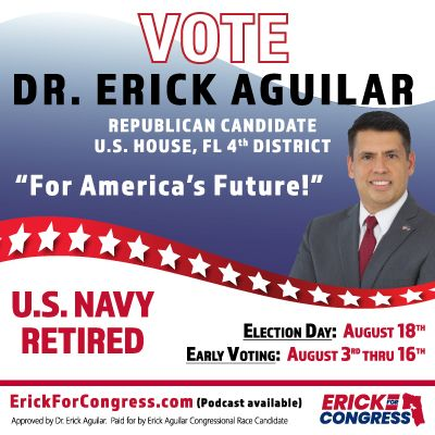 Dr. Erick Aguilar-U.S. Congress, FL 4th