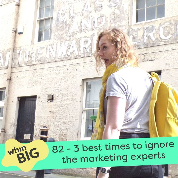 82 - 3 best times to ignore the marketing experts