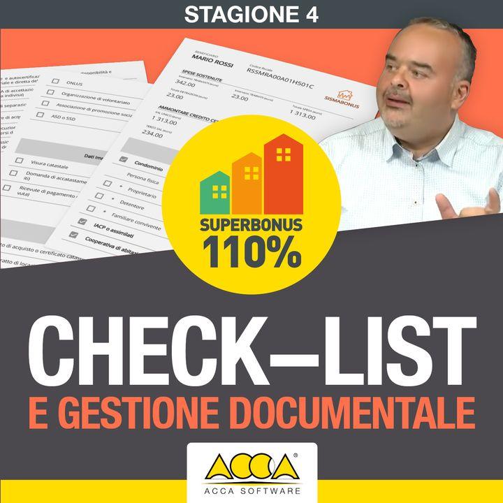 Superbonus 110   S04 E01: check-list e gestione documentale