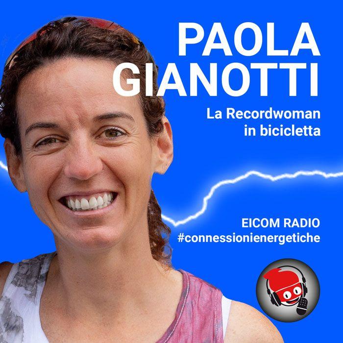 Paola Gianotti, la Recordwoman in bicicletta
