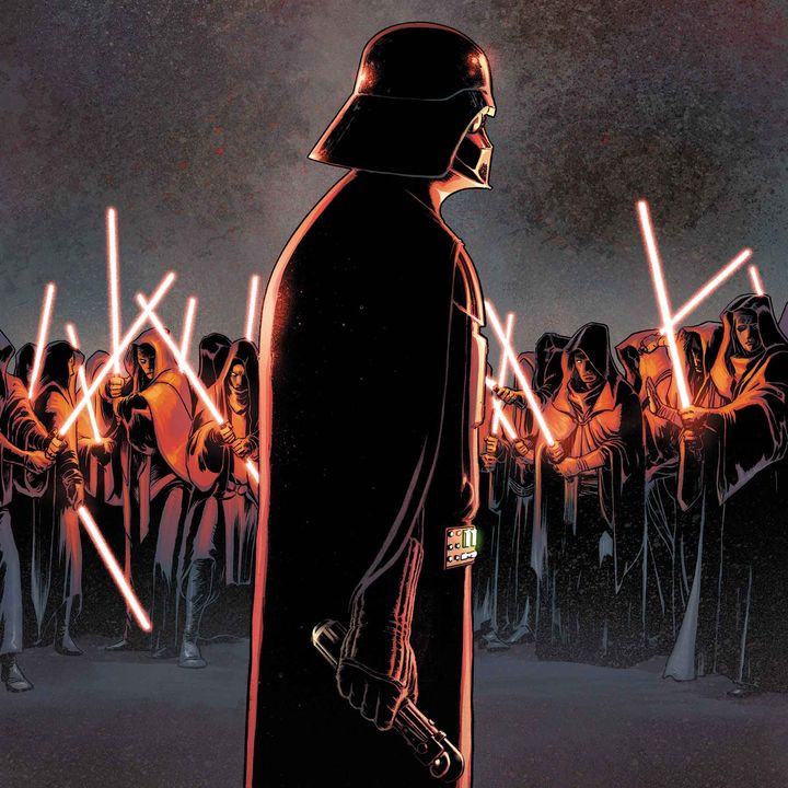 Star Wars Splash Page #232 -- Triple Stage Darkness