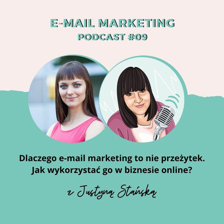 PODCAST #09: Dlaczego e-mail marketing to nie przeżytek. Jak wykorzystać go w biznesie online?