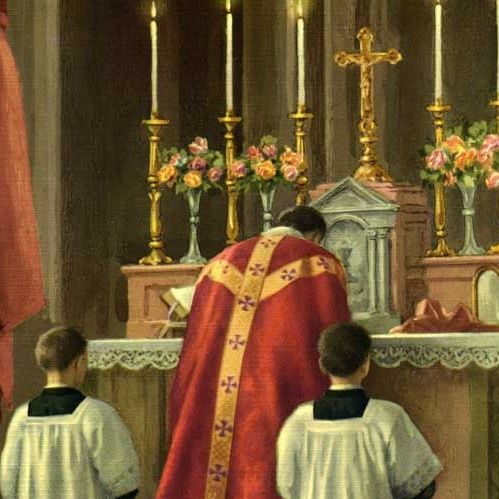 104 -Il bacio liturgico dell'altare e il saluto sacerdotale