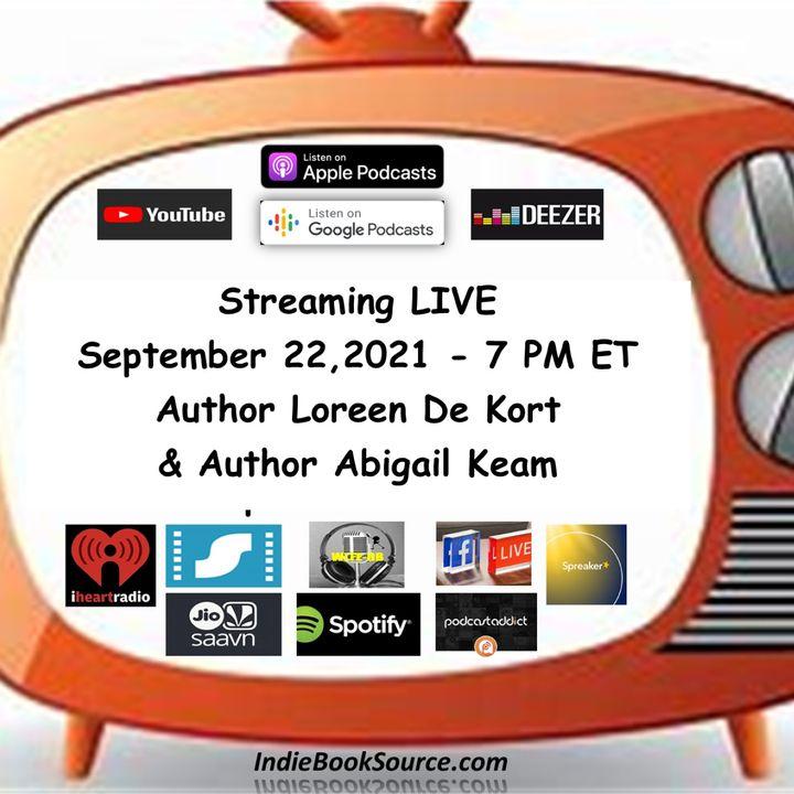 MEET THE AUTHOR Podcast - Episode 25 – ABIGAIL KEAM & LOREEN DE KORT