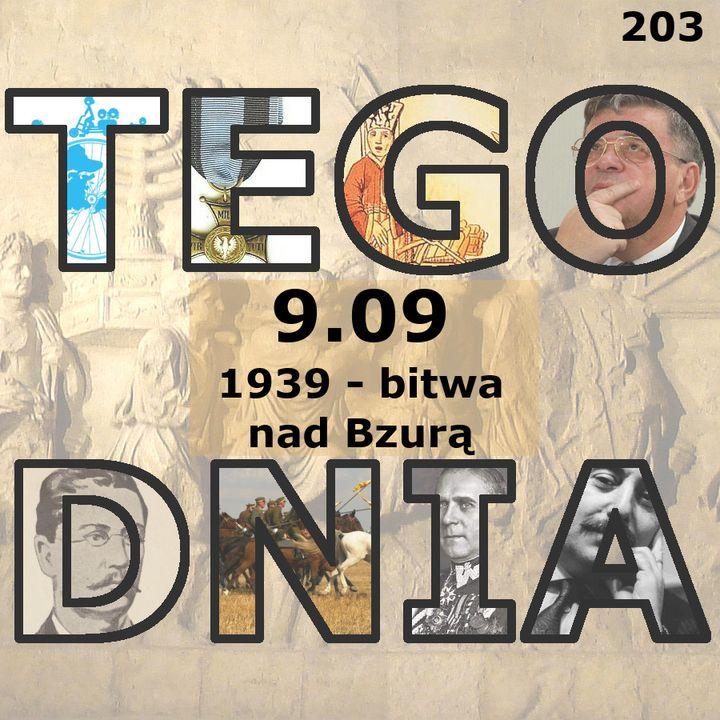 Tego dnia: 9 września (bitwa nad Bzurą)