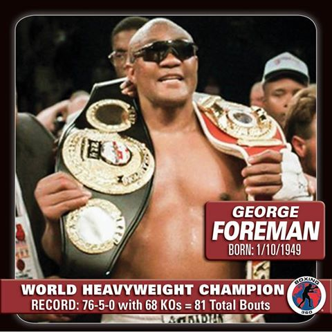 History of Heavyweight Boxing: Chapter 14 - George Foreman