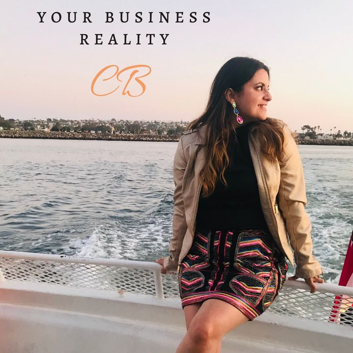 IQ Podcasts: Your Business Reality, CB, with Author Paz Ellis Ep. 81