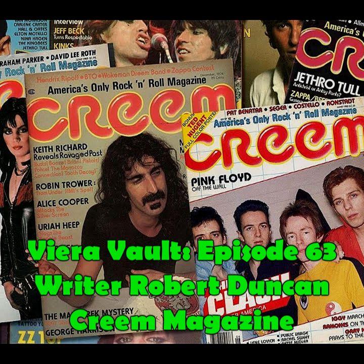 Episode 63: Robert Duncan Interview (Creem Magazine)