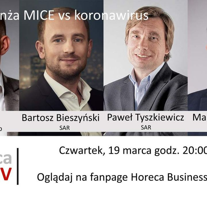 Goście Horeca Radio, odc. 49 - Branża MICE vs koronawirus