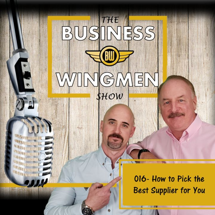 016- Picking the Right Supplier for You