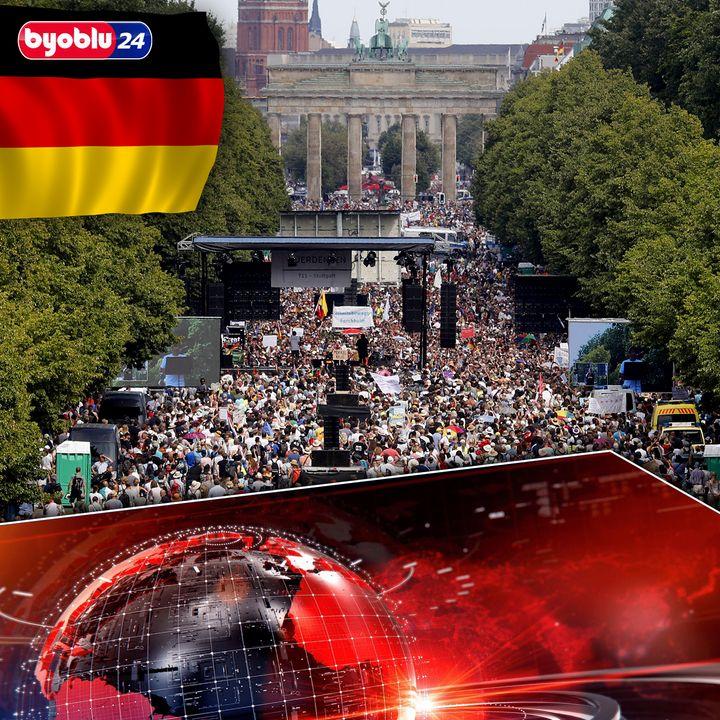 La Germania che si oppone al lockdown, in piazza contro le misure liberticide