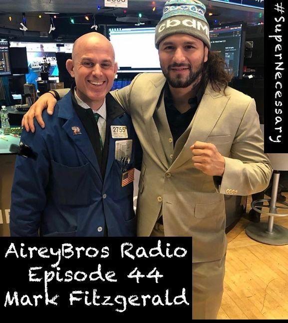 Airey Bros. Radio Episode 44 Mark Fitzgerald