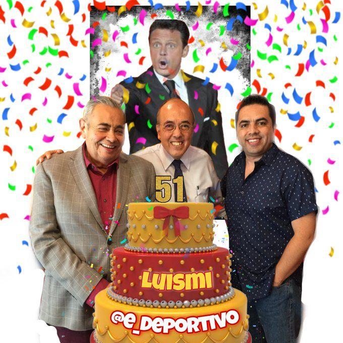 """Felicidad """"Luismi"""" atentamente Pepe Segarra en Espacio Deportivo de la Tarde 19 de Abril 2021"""
