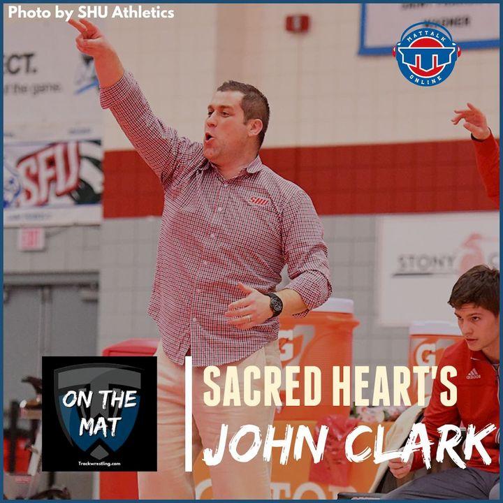 Sacred Heart head wrestling coach John Clark - OTM600