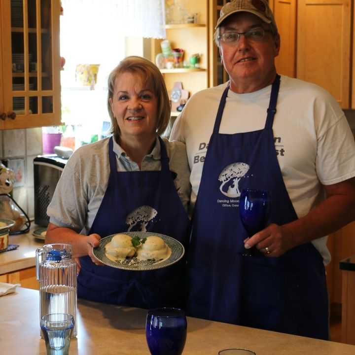 Dancing Moon Bed and Breakfast - Trey and Annette Lewis on Big Blend Radio