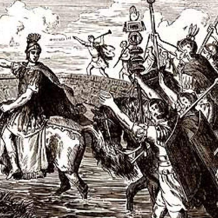 Julio César y el paso por el Rubicón