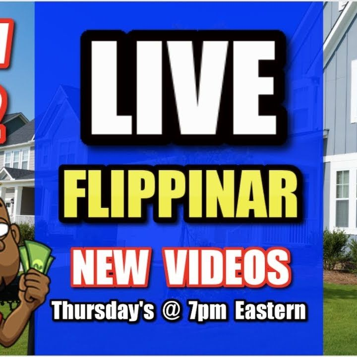 Live Show #82   Flipping Houses Flippinar: House Flipping With No Cash or Credit 12-27-18