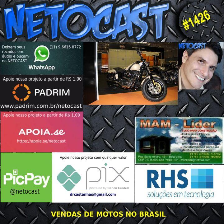 NETOCAST 1426 DE 26/05/2021 - VENDAS DE MOTOS NO BRASIL