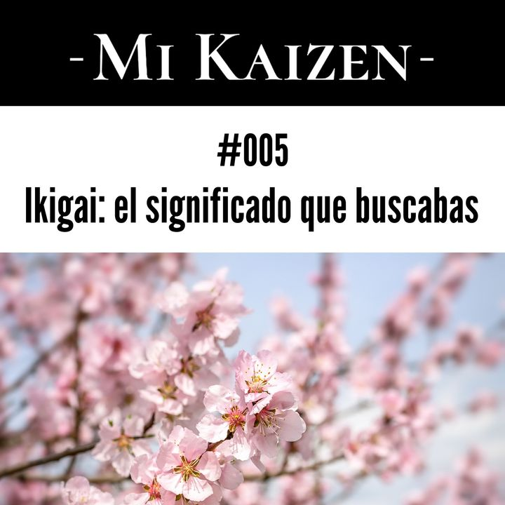 #005 Ikigai: el significado que buscabas