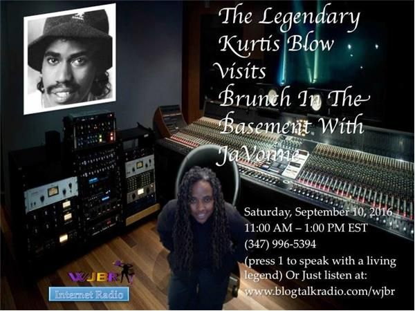 Kurtis Blow visits Brunch In The Basement With JaVonne