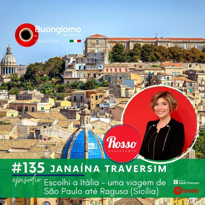 #135 Escolhi a Itália - uma viagem de São Paulo até Ragusa (Sicília)