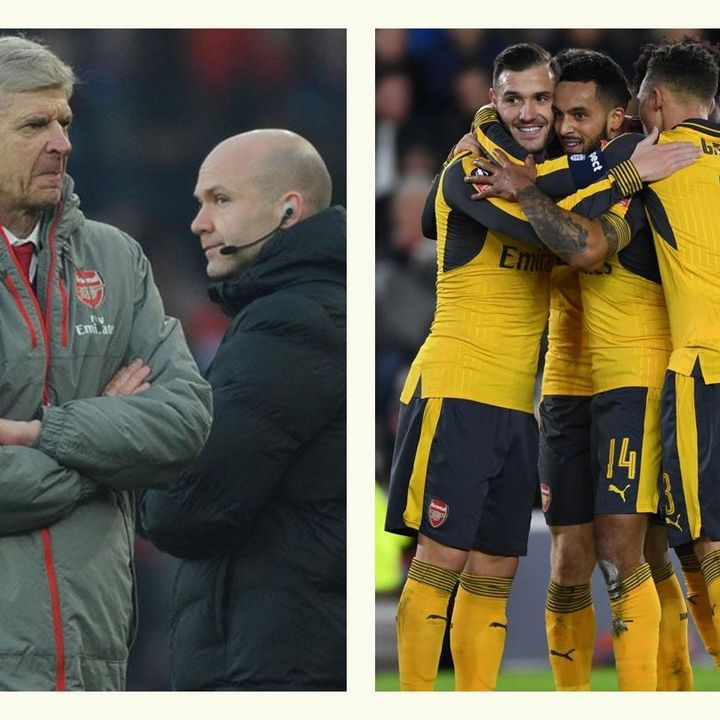 ARSENAL FC: Gunning For The Cup, Grasping For The League