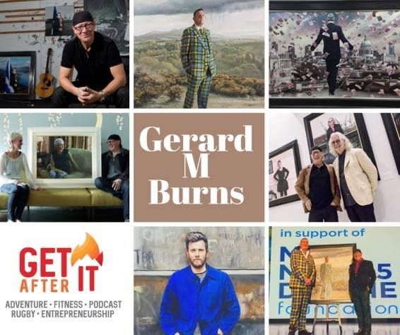 Episode 88 - with Artist Gerard M Burns