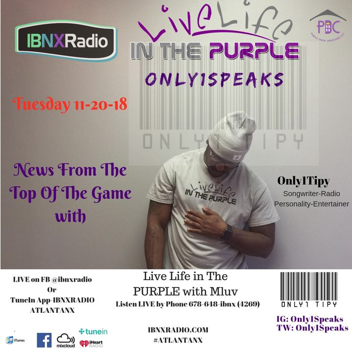 Only1Speaks Segment 1-22-19 with Only1Tipy