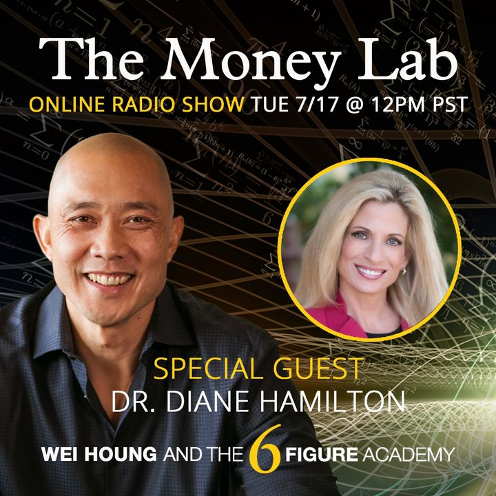 """Episode #72 - The """"Nobody Works But Money Is There"""" Money Story with guest Dr. Diane Hamilton"""