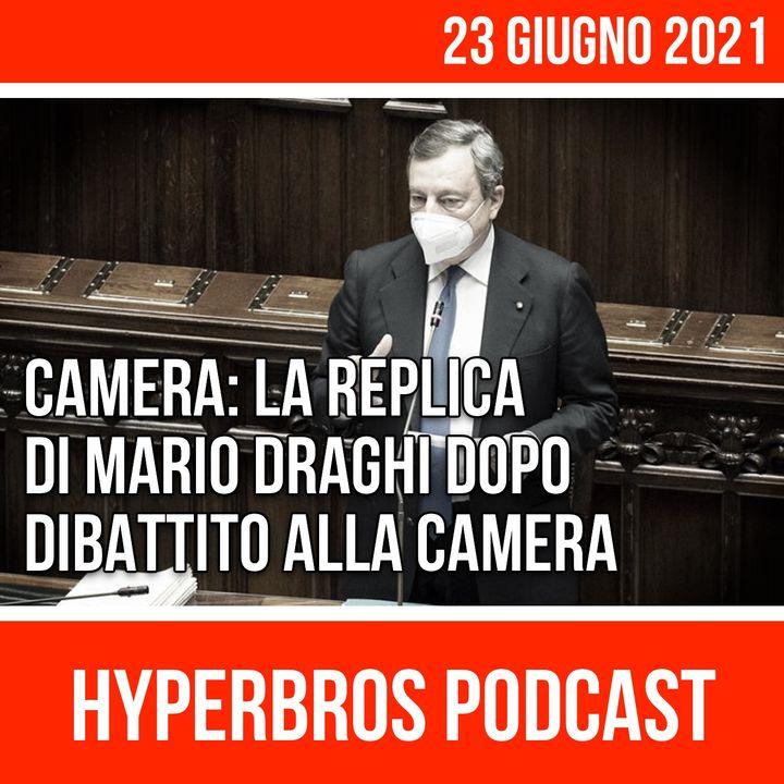 Replica di Mario Draghi dopo il dibattito alla Camera