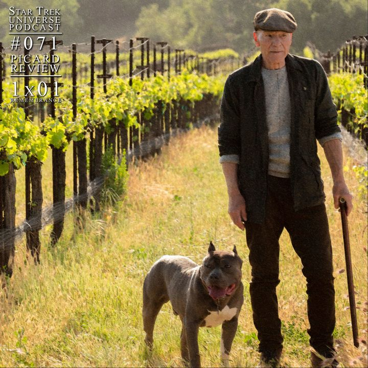 """PICARD REVIEW! 1x01 - """"Remembrance"""""""