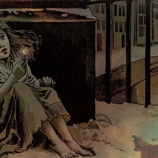 """""""La pequeña vendedora de cerillas"""" by Hans Christian Andersen"""