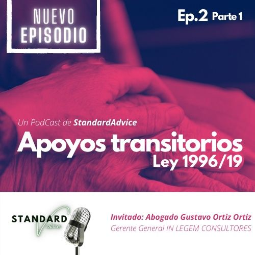 Ep2. Apoyos Transitorios | Ley 1996/19 | Parte 1.