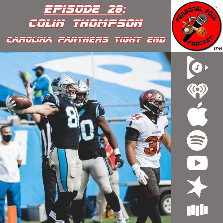 28. Colin Thompson, Carolina Panthers Tight End