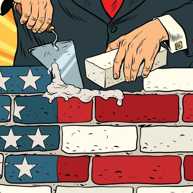 President Trump Is Going To Build The Wall