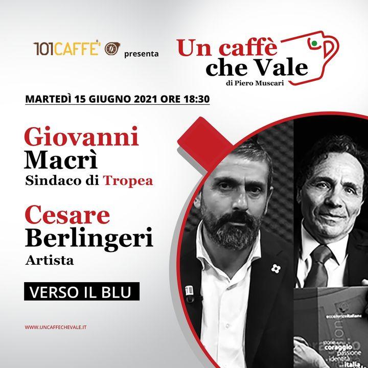 Cesare Berlingeri e Giovanni Macrì: Verso il blu