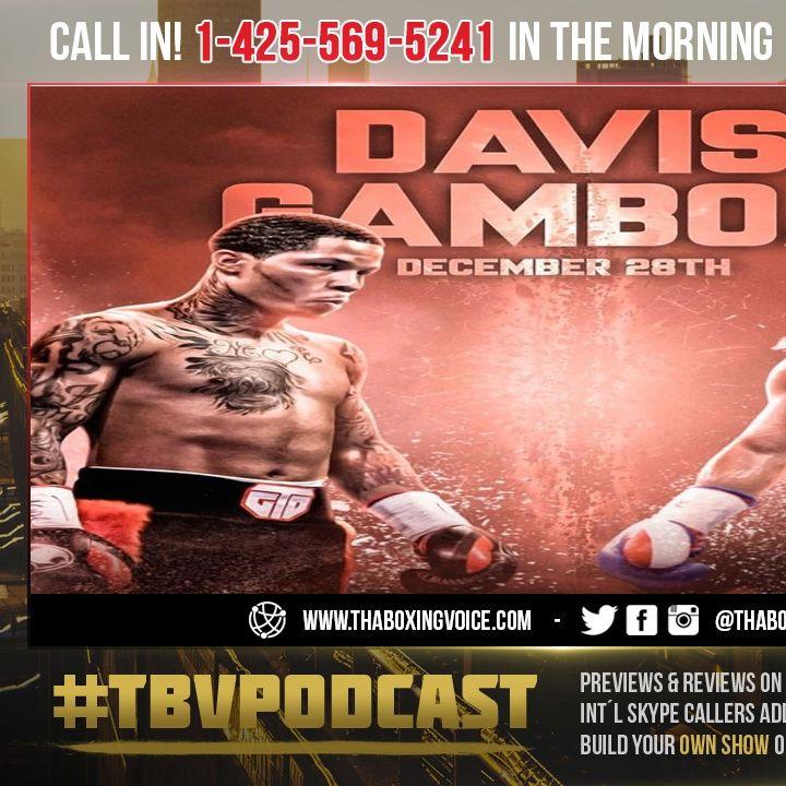 ☎️Gervonta Davis vs Yuriorkis Gamboa Set 12/28 in Atlanta🔥Tank Facing Crawford's Past Foe😱