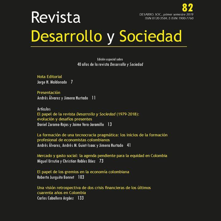 Lanzamiento edición especial 40 años Revista Desarrollo y Sociedad