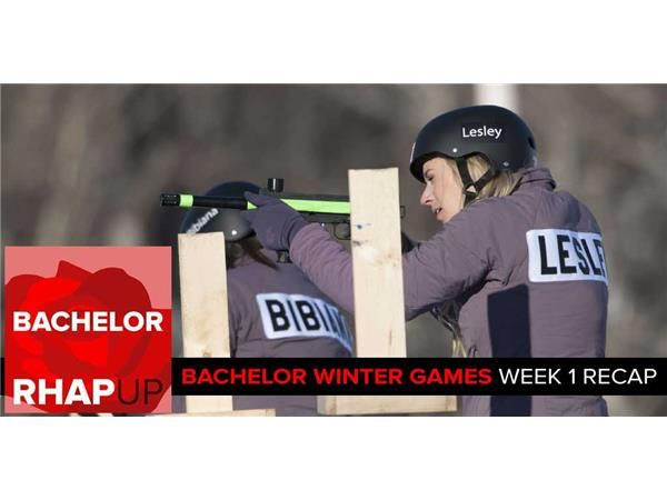 Bachelor Winter Games Week 1 Recap with Akiva